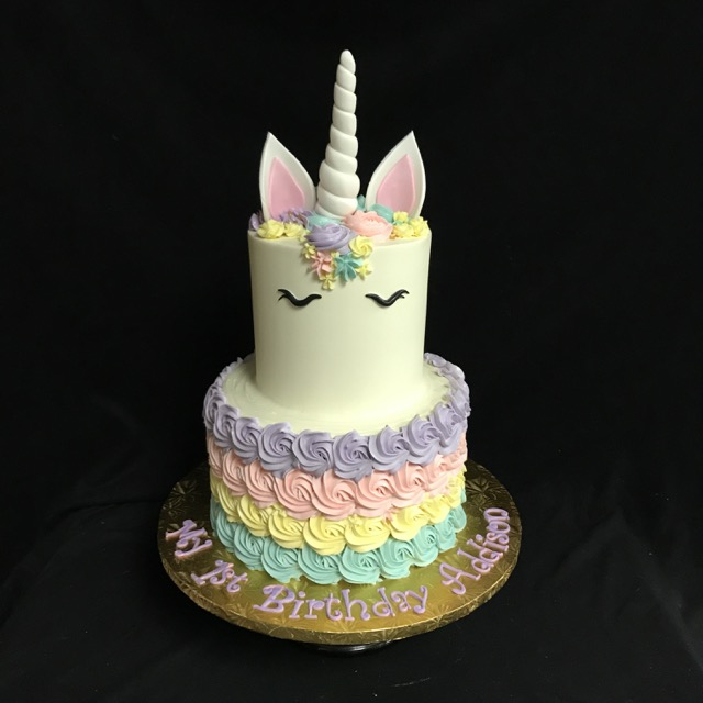 Unicorn and Rosettes - 1242K