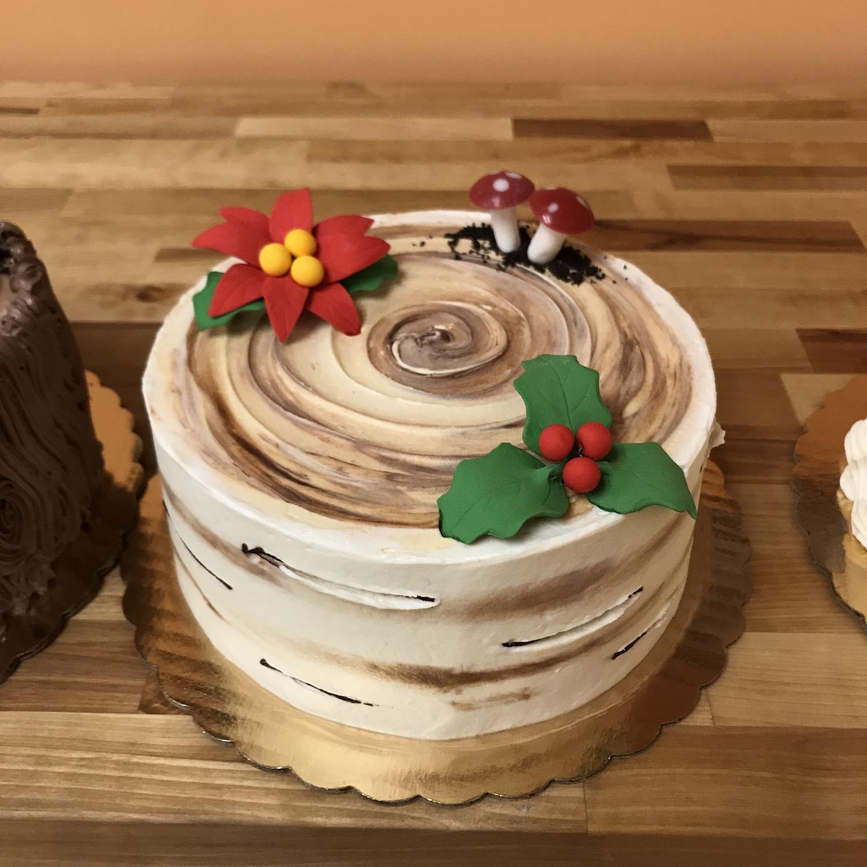 Birch Yule Cake