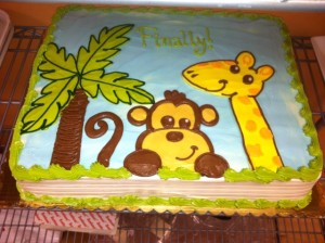 Safari Baby Shower 921B