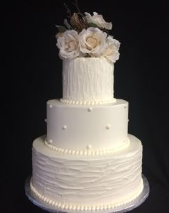 wedding cakes alternating textures (8)
