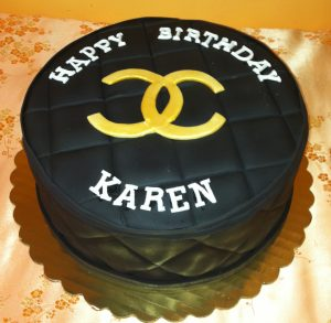 Chanel Logo in fondant - 708F