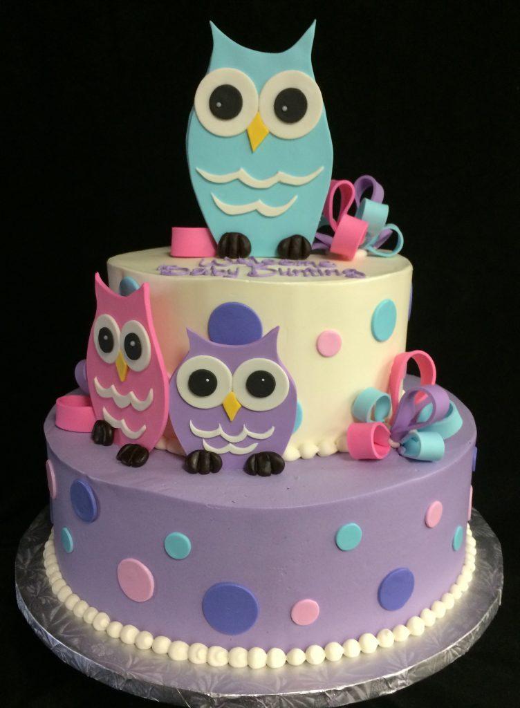 Cute Owls - 1089B