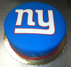 Giants Logo Cake - 937M