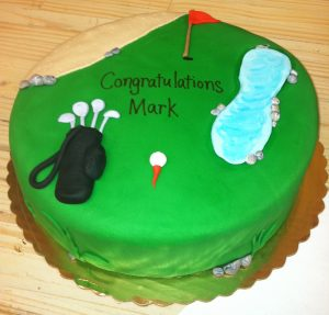 Golf Theme in Fondant - 714M
