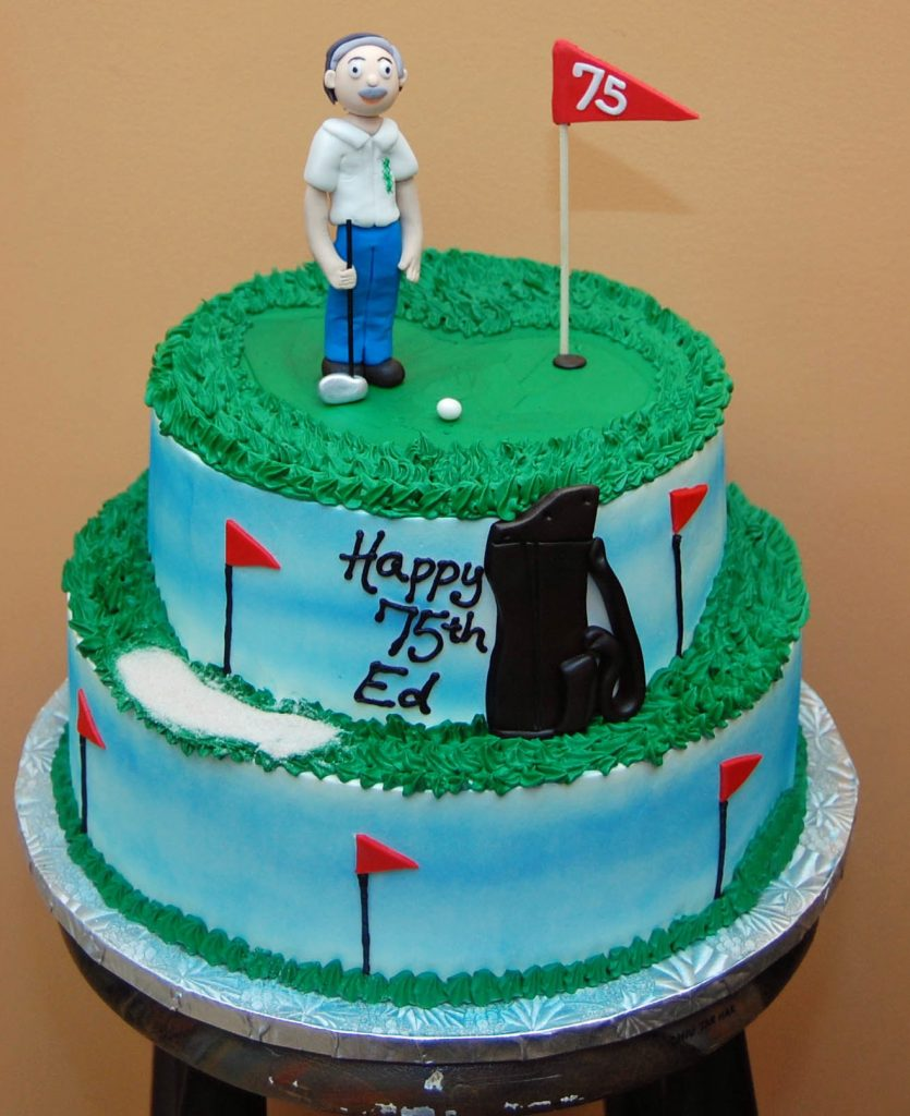 Golf Theme, stacked cake - 561M