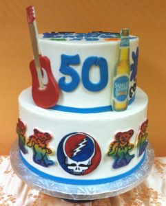 Grateful Dead Cake- 660M