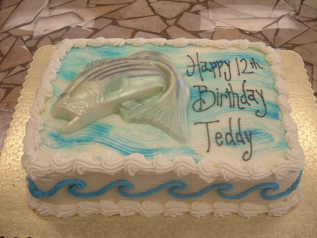 Striper Bass Cake- 142M