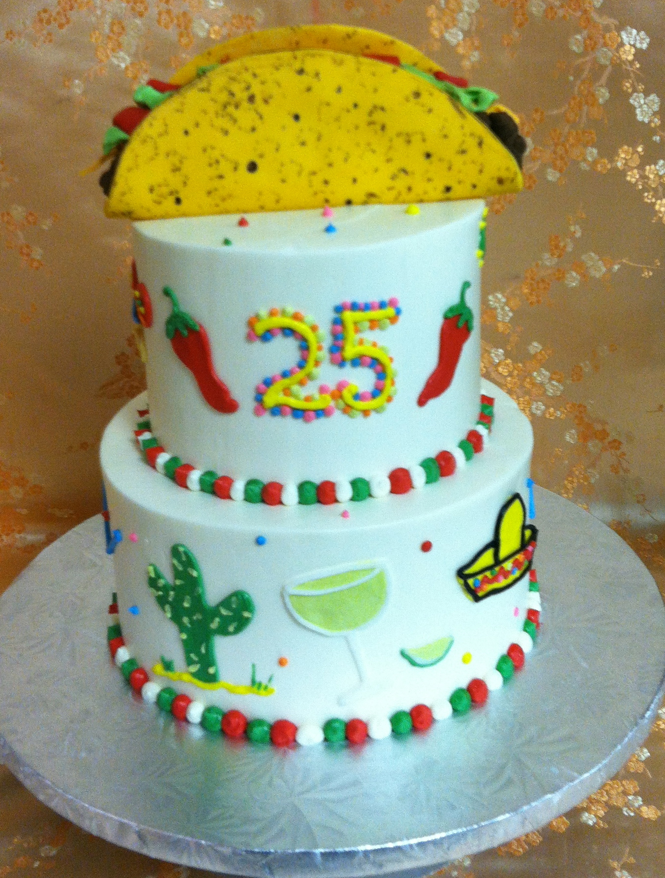 Taco Cake 926m The Bake Works