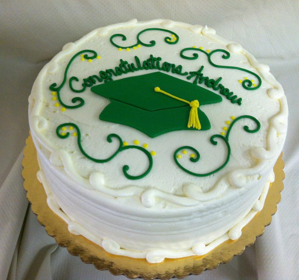 Mainland High School MRHS Graduation Cake Mainland High School
