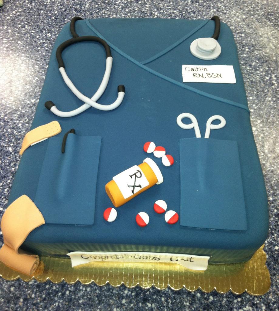 Nurse Doctor Graduation Scrubs