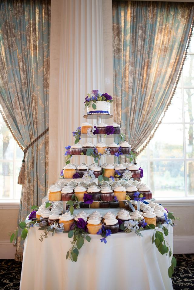 Wedding Cupcake Cake Tower The Bake Works