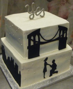 the knot wedding cakes brooklyn bridal shower cakes the bake works 20857