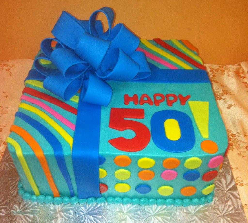 Bright Present Cake- 713M