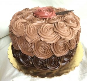 Chocolate Rosettes - 1061F