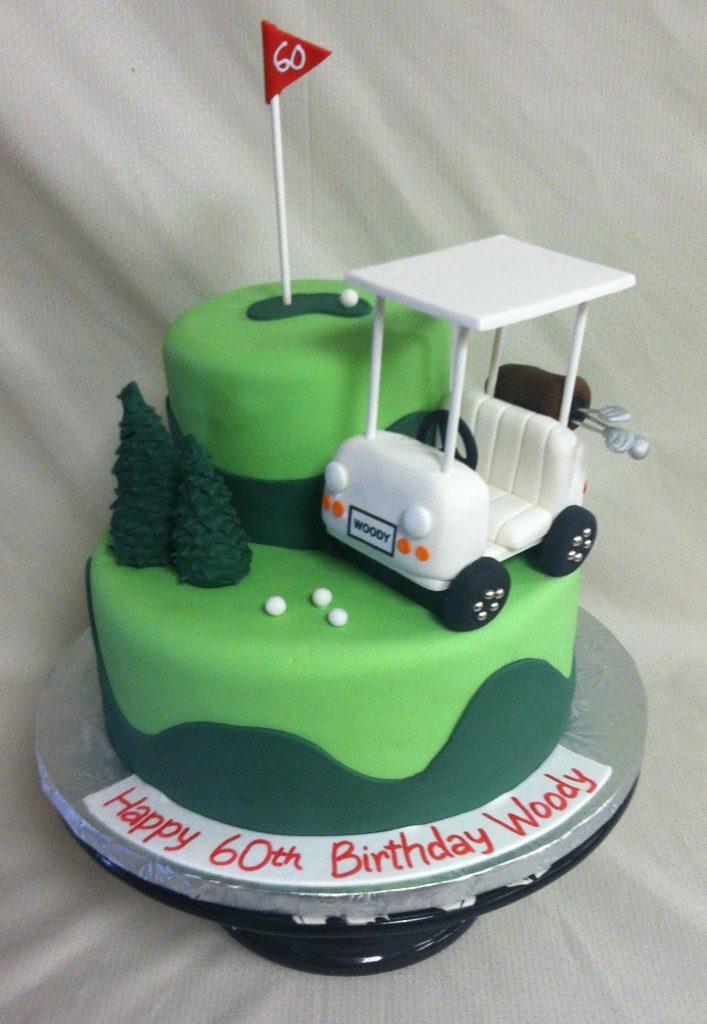 Golf Cart Cake -989M