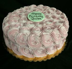 Pale Pink Rosettes - 918F