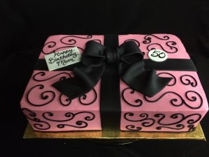 Pink and Black Present - 1067F
