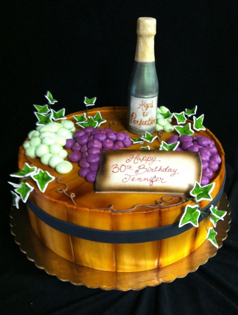 Wine Barrel - 1037F