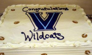 Villanova Graduation Cake